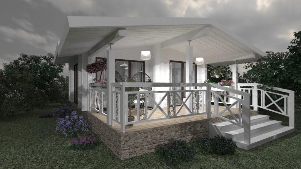 дизайн фасадов домов и коттеджей