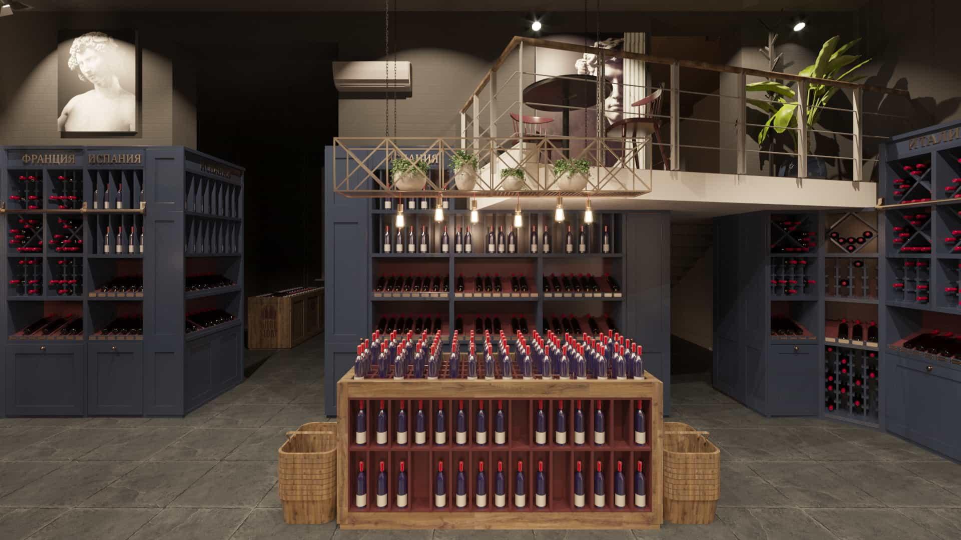 винотека, интерьер винотеки, дизайн интерьера, дизайнер интерьера, дизайн интерьера уфа, дизайнер интерьера уфа, дизайн интерьера фото, студия дизайна интерьера, архитектурное бюро
